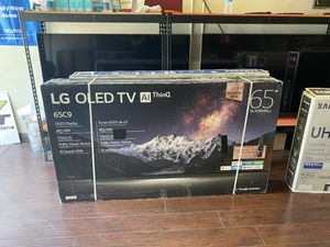 LG OLED 65 INCH C9 COMPLETE BRAND NEW HUGE SALE TVS 2019 BRAND NEW TELES for Sale in Alhambra, CA