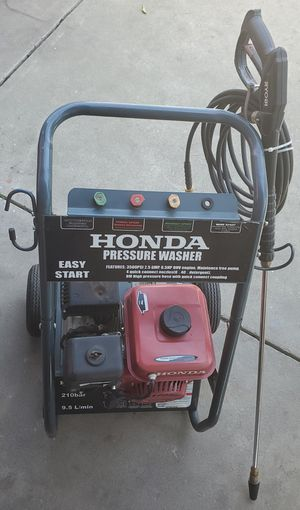 HONDA PRESSURE WASHER 3500 PSI 6.5HP for Sale in San Jose, CA