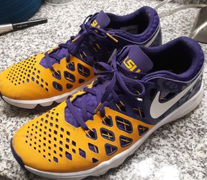 Nike lsu shoes! Go tigahs'! for Sale in Lake Charles, LA