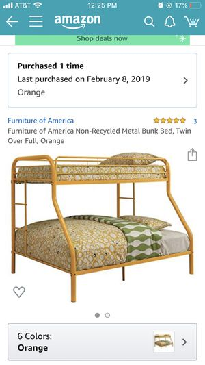 Metal bunk bed for Sale in Hutchinson, KS