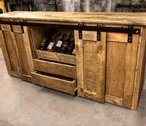Custom wine kitchen island for Sale in Fort Worth, TX