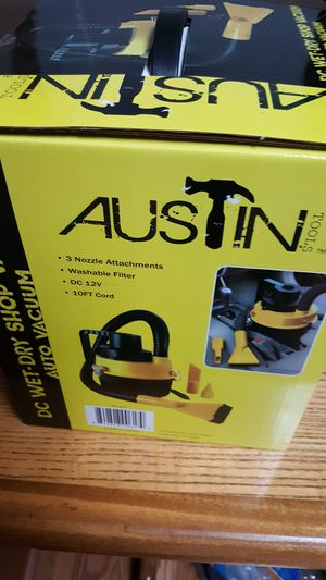 Austin 12 volt compact vacuum for you car for Sale in Brainerd, MN