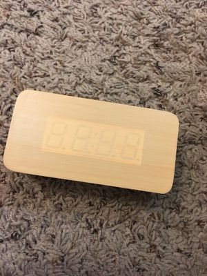 Wooden alarm clock for Sale in Friendswood, TX