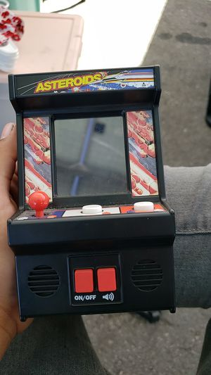 Asteroid mini arcade game for Sale in Los Angeles, CA