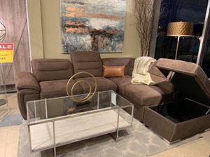 Sleeper Sectional with Storage (Modern Home Furniture) for Sale in Everett,, WA