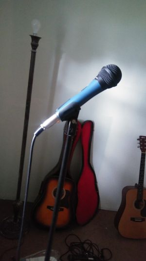 Microphone and stand. for Sale in Marion, OH