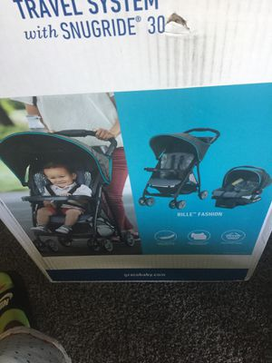 Brand New Graco Stroller and Car seat Never Used for Sale in Darnestown, MD