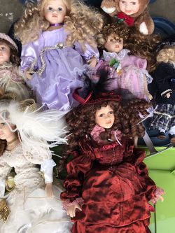 Porcelain Doll Lot for Sale in Murrieta,  CA