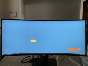 "Dell 38"" Curved Monitor U3818DW for Sale in Houston, TX"