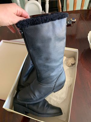Naturalized black boots size7 for Sale in Aurora, CO