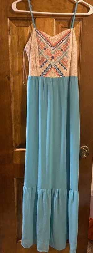 Turquoise formal dress for Sale in Lenexa, KS