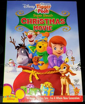 Tigger and Pooh Super Sleuth Christmas Movie DVD for Sale in Upland, CA