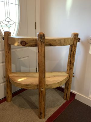 Log hand made hall table for Sale in Commerce City, CO