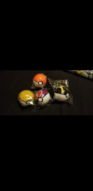 Pokemon poke balls for Sale in Huntington Beach, CA