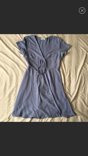 Lush Pastel Blue Wrap Dress (S) for Sale in Chicago, IL