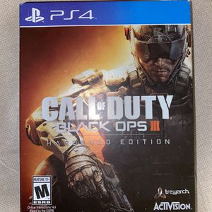 Call of Duty Black Ops III Hardened Edition for Sale in Miami, FL