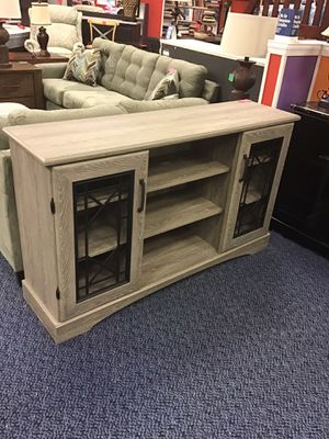 "New 60"" Gran Oak TV stand for Sale in Norfolk, VA"