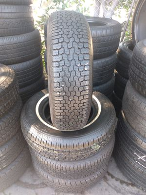 Set tires 235/75/R15. Radial Sonic Spectrum for Sale in Stanton, CA