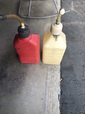 Gas cans for Sale in Bellflower, CA
