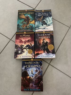 The Heroes of Olympus Book Set for Sale in Wesley Chapel, FL
