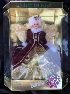 BARBIE happy holidays 1996 special edition unopened for Sale in Kirkwood, NJ