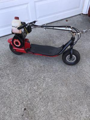 Mosquito Goped 40cc chain-drive gas motor scooter - runs great! 30mph! for Sale in Pleasanton, CA