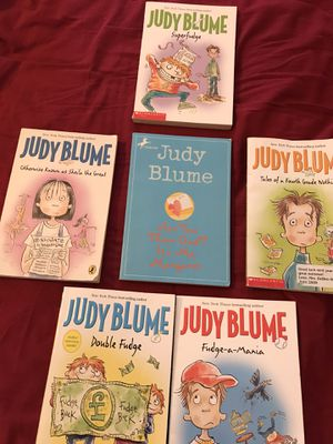 Judy Blume Books - 6 for Sale in High Point, NC