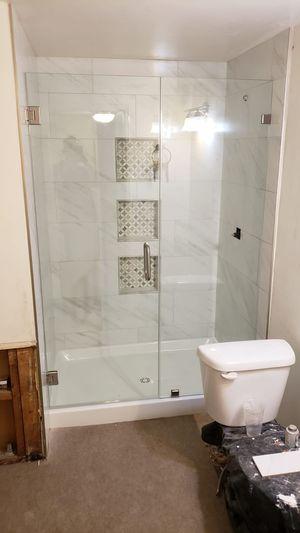 Frameless shower door glass for Sale in Lynwood, CA