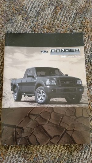 2006 Ford Ranger Owner's Manual for Sale in Seattle, WA