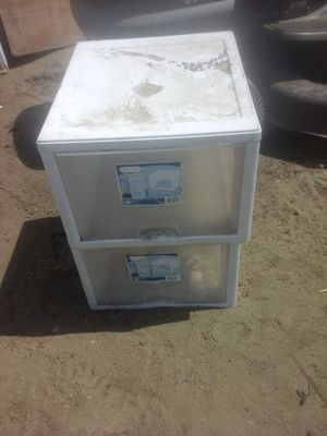 Plastic drawers for Sale in Pomona, CA