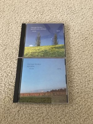 George Winston CD lot of 2 - used for Sale in Waukesha, WI
