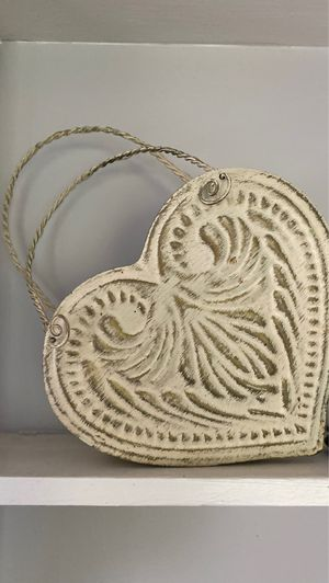 Heart shaped basket for Sale in Armonk, NY