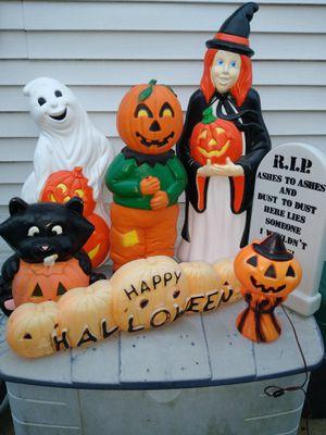 Halloween blow mold lot for Sale in Oak Lawn, IL