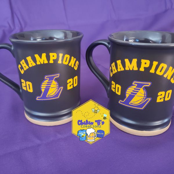 Lakers 2020 Champions Coffee Mugs