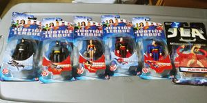 VINTAGE JUSTICE LEAGUE ACTION FIGURES NEW IN BOX.. SET OF 6 FOR $30 FIRM..WEST KENDALL ONLY OR CAN BE SHIPPED for $35 for Sale in Miami, FL