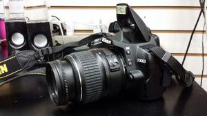 Nikon camera D3000 for Sale in Moreno Valley, CA