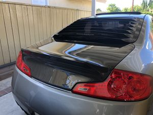 Seibon C-STYLE CARBON FIBER TRUNK LID FOR 2003-2007 INFINITI G35 2DR for Sale in Westminster, CA