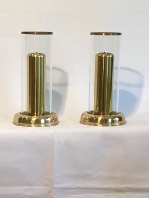 Vintage brass oil lamps for Sale in Las Vegas, NV