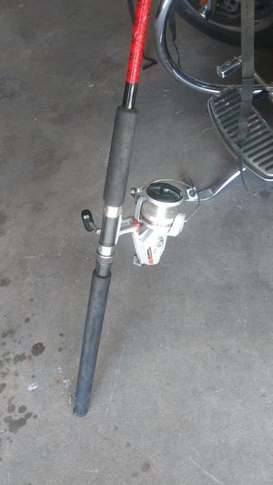 Fishing pole with reel for Sale in National City, CA