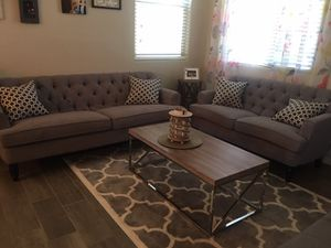Sofa and love seat for Sale in Glendale, AZ