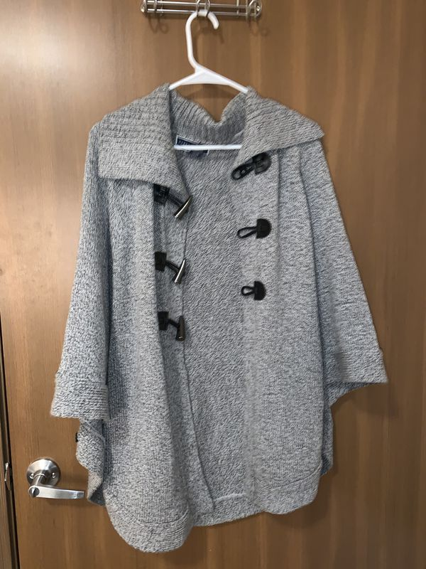 Sweaters and s halls and dress coats all size L