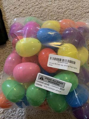 50 candy filled Easter eggs for Sale in Brambleton, VA