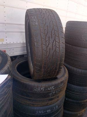 Tires 285/45/22 for Sale in Phoenix, AZ