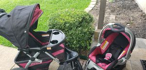 Set of stroller and carseat for Sale in Garland, TX