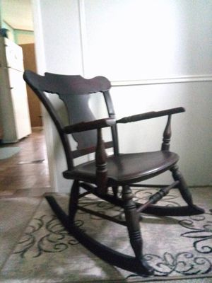 SOLID WOOD CHILD'S ROCKING CHAIR for Sale in Kent, OH