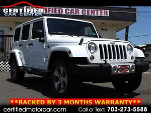 2016 Jeep Wrangler Unlimited for Sale in Fairfax, VA