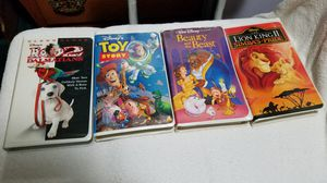 4 Disney Collectable VHS Movies for Sale in Sacramento, CA