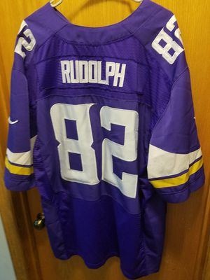 Size 52 Vikings Rudolph jersey for Sale in Osseo, MN