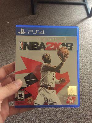 NBA2K18 for Sale in Salt Lake City, UT