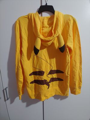 Large Pokemon Pikachu Hoodie With Ears Official Cosplay Sweater for Sale in Compton, CA